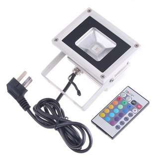 10W RGB Flash LED Outdoor Flood Light Landscape Lamps