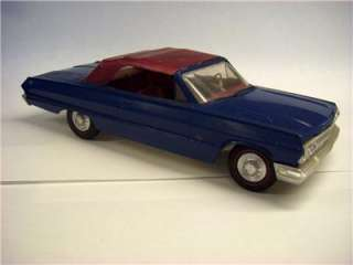 VTG ORIG 1/25 AMT 1963 CHEVROLET IMPALA SS409 CONVERTIBLE HOT ROD DRAG