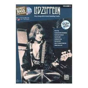 Led Zeppelin Authentic Bass Tab (9780739059425) Led Zeppelin Books