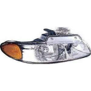 00 CHRYSLER TOWN & COUNTRY VAN HEADLIGHT RH (PASSENGER SIDE) VAN, With