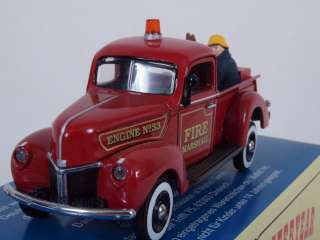 Matchbox Code 1 Promo YFW01 Fire Engine 1940 Ford Truck