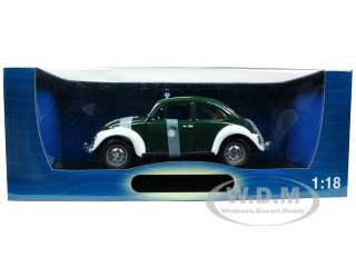 1967 VOLKSWAGEN BEETLE KAFER GERMANY POLICE CAR 1/18 DIECAST MODEL