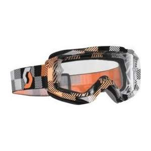 Scott USA Hustle Goggles , Color Grizzle/Clear Lens