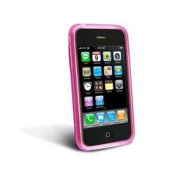 Pink TPU Rubber Skin Case Cover for Apple 3G iPhone