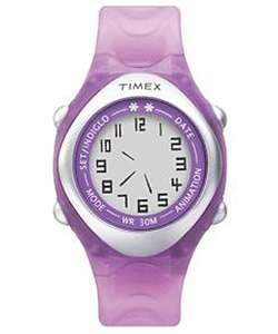 Timex Purple Animation Sports Quartz Watch