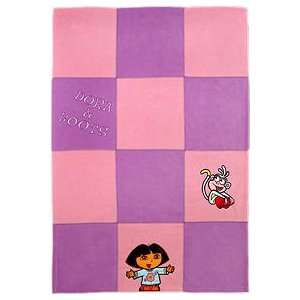 Dora Explorer Patchwork Blanket Toys & Games
