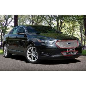 FORD TAURUS 2013 FITS SHO MDLS ONLY CHROME FINE MESH GRILLE GRILLE KIT