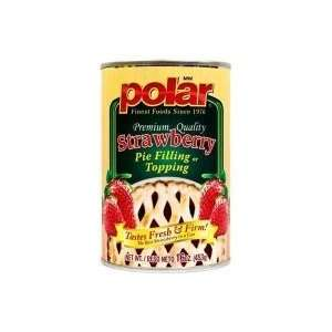 Polar Strawberry Pie Filling   24 Pack Grocery & Gourmet Food