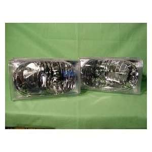 DUTY/ EXCURSION 99 04 W/O BOUNDARIES R & L SET HEADLIGHTS HEADLAMP