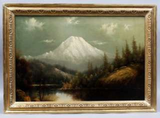 BARCHUS LISTED WESTERN HUDSON RIVER SCHOOL FEMALE OIL PAINTING OREGON