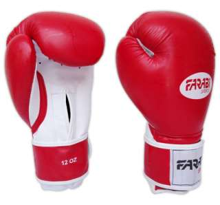 BOXING GLOVES TOP QUALITY SYNTHETIC LEATHER RED TEXTURE