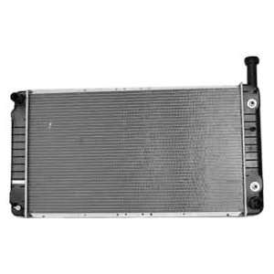 TYC 2716 Chevrolet Express 1 Row Plastic Aluminum Replacement Radiator