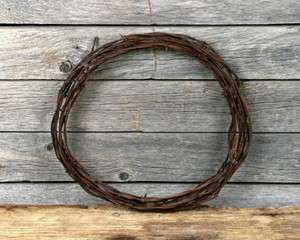 Barbed Wire Barb Barbwire Western Decor Craft Roll Rustic Rusted