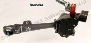 SM249A Cruise Control Wiper Turn Signal Switch 98 04 Chevy Olds