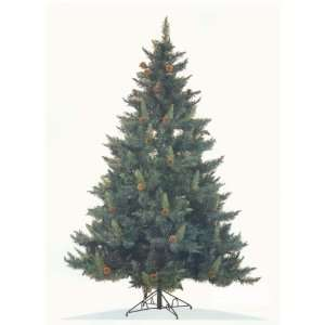 6 Ft Mixed Pine Artificial Christmas Tree w/ Pinecones