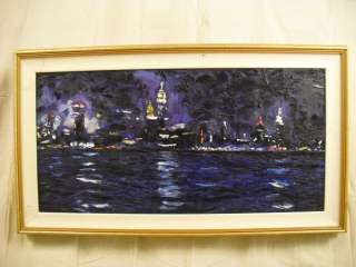 Impressionist New York City Skyline Painting (1864)*