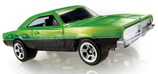 2008 Hot Wheels 69 Dodge Charger Green
