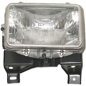 OE Replacement Chevrolet S10 Passenger Side Headlight Assembly Sealed
