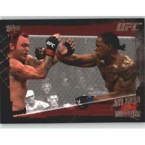 2010 Topps UFC Trading Card # 69 Jay Silva (Ultimate