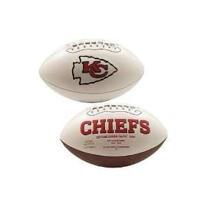 Kansas City Chiefs Signature Football