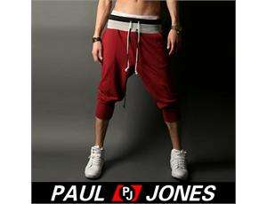 Mens Fashion Cotton Casual Sport Rope Short Pants Jogging Trousers IN