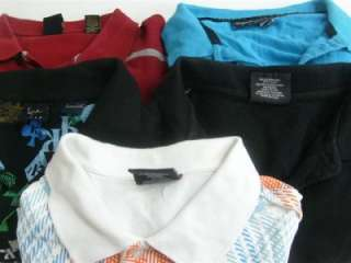 Lot of 5 Mens Big & Tall Urban Style Polo Shirts Size 3XL XXXL KANI