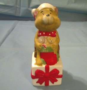 FLAMBRO 1983 TED E. BEAR & FRIENDS PORCELAIN FIGURINE