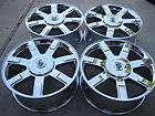 NEW CHROMED FACTORY OEM ORIGINAL CADILLAC ESCALADE WHEELS ONLY NO TIRE