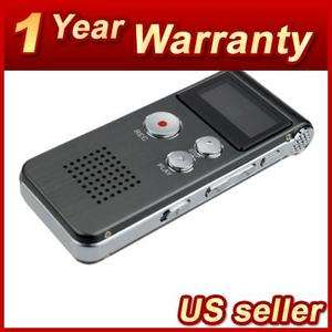 4GB USB DIGITAL SPY AUDIO VOICE RECORDER DICTAPHONE  MUSIC PLAYER