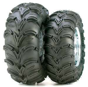 ITP Mud Lite 22x11x10 Front Rear 6 Ply ATV Tire Black