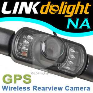 Night Vision GPS HD Wireless Car Rear View Reversing Camera + Receiver