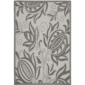 Safavieh Courtyard Collection CY6109 78 6 Light Grey and