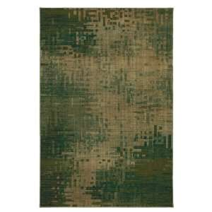 Rugs Centrifuge Green 63 Inch by 94 Inch Area Rug