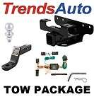 1995 2002 DODGE RAM TRAILER TOW HITCH W/ WIRING KIT NEW
