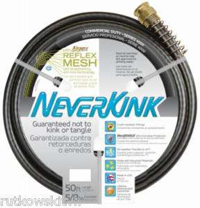 NeverKink 5/8 Inch x 50 Ft. Commercial Duty Garden Hose