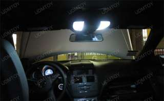 White 5 Lights LED Interior Package Ford Mustang 94 04