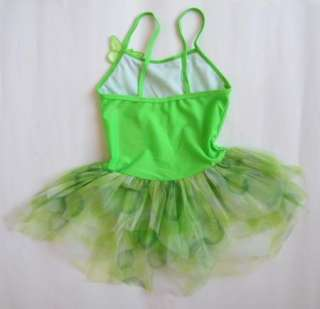 5ColorGirl Leotard Ballet Tutu Skirt Dance Dress SZ3 8Y