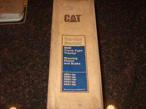 CAT CATERPILLAR D6M TRACK TYPE TRACTOR SERVICE MANUAL