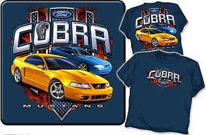 Ford Mustang Cobra SVT Mens T shirt