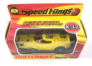 MATCHBOX SPEED KINGS K 32 SHOVEL NOSE RACER, 1971, MIB