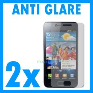 Anti Glare Screen Protector 4 Samsung i9100 Galaxy s2