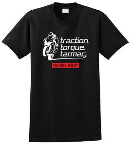 Torque Traction Tarmac Motorcycle Suzuki GSXR T Shirt