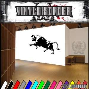 Bull Bulls Animal Animals Vinyl Decal Sticker 005