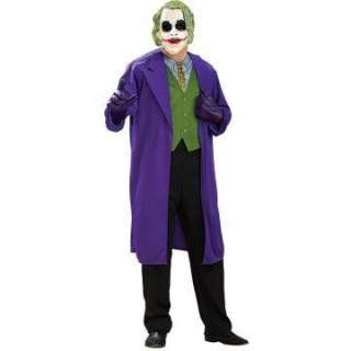 Batman Dark Knight The Joker Adult Plus Costume   Includes Mask and