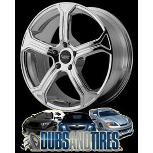 20x10 American Racing wheels wheels MC5 Chrome wheels rims Automotive
