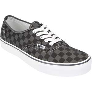 VANS Authentic Checkerboard Boys Shoes 136872127  Sneakers