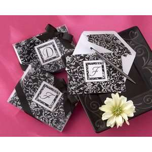 Letter Perfect Elegantly Monogrammed Note Cards