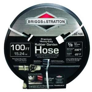 Briggs and Stratton 8BS100 100 Foot Premium Heavy Duty Rubber Garden