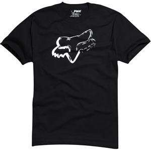 Fox Racing Ink Covered T Shirt   Small/Black Automotive