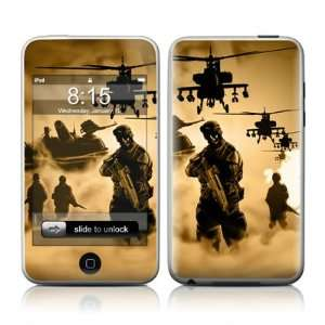 Military Army iPod Touch 2nd or 3rd Generation Skin Cover Case Decal